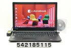 東芝 dynabook B65/B Core i5 6300U 2.4GHz/4GB/500GB/Multi/15.6W/FWXGA(1366x768)/Win7 リカバリメディア(Win10)付属【中古】【20180214】