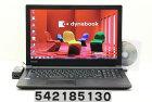 東芝 dynabook B45/B Celeron 3855U 1.6GHz/4GB/500GB/Multi/15.6W/FWXGA(1366x768)/Win7 リカバリメディア(Win10)付属【中古】【20180215】