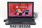 東芝 dynabook B55/B Core i3 6100U 2.3GHz/4GB/500GB/Multi/15.6W/FWXGA(1366x768)/Win7 リカバリメディア(Win10)付属【中古】【20180215】